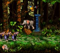 DKC3 Screenshot Strampel-Getrampel