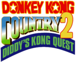 Donkey Kong Country 2 logo