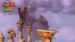 DKCR Screenshot Gefahr auf dem Plateau