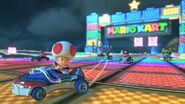 MK8 Screenshot SNES Regenbogen-Boulevard 3