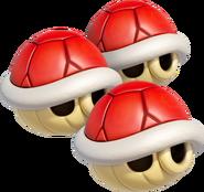 Triple Red Shells (Mario Kart 8)