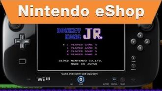 Nintendo eShop - Donkey Kong Jr. Wii U Virtual Console Trailer