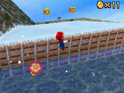 SM64DS Snowmans Land Star 4