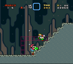 SMW Screenshot Bowsers Tal 1