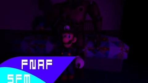 (FNAF SFM) Luigi Meets Nightmare Freddy