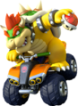 MK8 Artwork Bowser