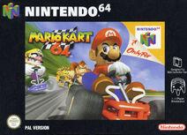Mario Kart 64 европейская обложка