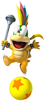 NSMBW Artwork Lemmy Koopa