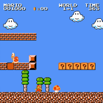 World 1 1 Super Mario Bros The Lost Levels Mariowiki Fandom
