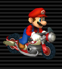 Nitrocyclette Mario