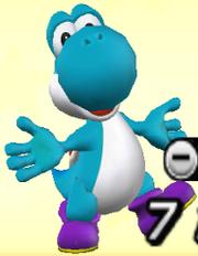 Yoshi bleu clair Sluggers