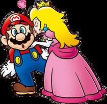 SMEncyclopedia-Mario&Peach