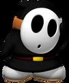 Schwarzer Shy Guy