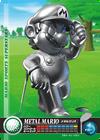 Carte amiibo Mario de métal golf