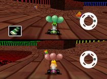 MK64-GrosDonut-Yoshi&Peach