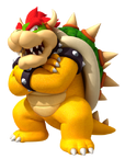 NSMBW Artwork Bowser