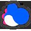 Icône Yoshi bleu Ultimate