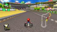 Luigi Circuit Racing - Mario Kart Wii