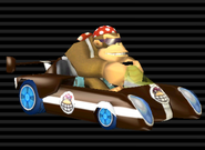 MKW Jetsetter Funky Kong Screenshot