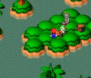SMRPG Screenshot Froschteich