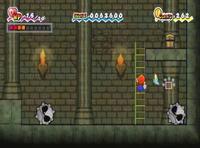 Spiky Tromp en el juego Super Paper Mario