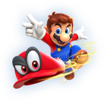 Super Mario Odyssey Artwork2