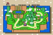 Isla de Yoshi Mapa SMW