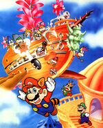 SMB3 Artwork - Airship assault