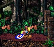 DKC2 Screenshot Klobber-Chaos