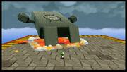SMG2 Screenshot König Wummp