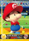 Carte amiibo Bébé Mario tennis