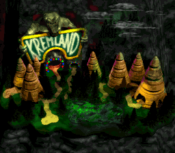 Krazy Kremland Exterior (Donkey Kong Country 2)