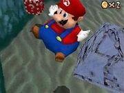 Mario Baudruche dans Super Mario 64 DS