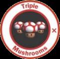 Triple champignon