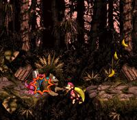 DKC3 Screenshot Koindozer-Kollision