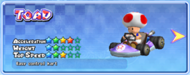 MKAGP2 Screenshot Toad Standard-Kart