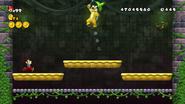 Mario vs Iggy Koopa