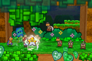 Refresh Being Used (Paper Mario)
