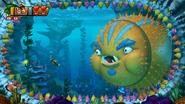 DKCTF Screenshot 4-Boss Fisch & Schimps (Nach 6 Treffern)