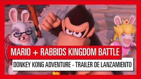 Mario Rabbids Kingdom Battle Donkey Kong Adventure - tráiler de lanzamiento