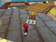 SM64DS Screenshot Roboter-Bagger