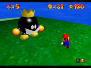SM64 Screenshot König Bob-omb 2