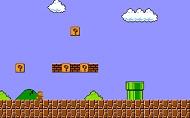 This Wallpaper Shows A Classic Setup From The Original Super Mario Bros