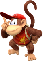 DKCTF Artwork Diddy Kong