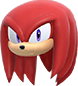 Knuckles (head) - MaS