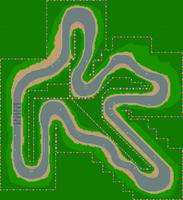 Circuit Luigi - MKSC (parcours)