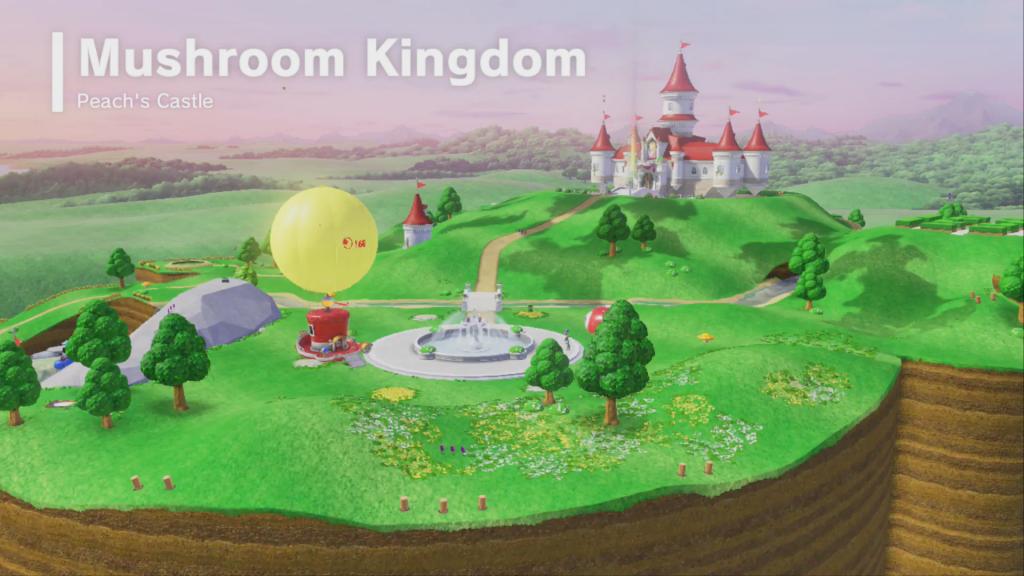 Peach S Castle Super Mario Odyssey Mariowiki Fandom