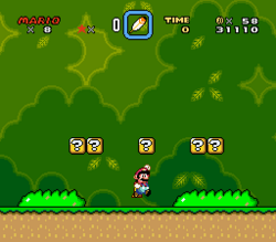 SMW Screenshot Top Secret Ebene