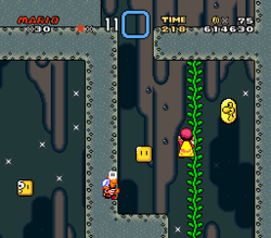 SMW Screenshot Vanille-Rätsel 1