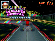 Waluigi Pinball - Out of the Portal - Mario Kart DS